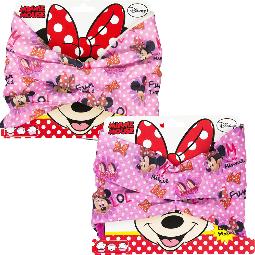Nákrčník Minnie Fashion - bílý flís