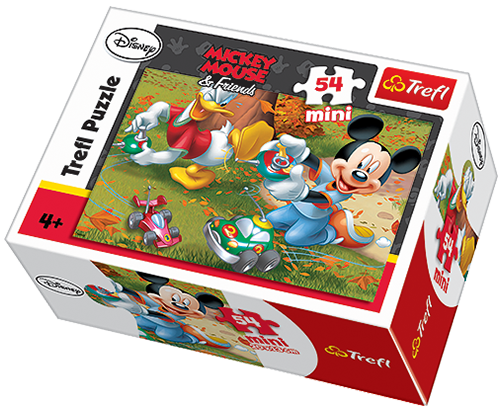 Minipuzzle Mickey Mouse a Donald