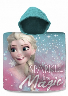 Poncho Frozen Magic - Elsa